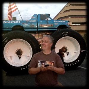 Big Blue Monster Truck