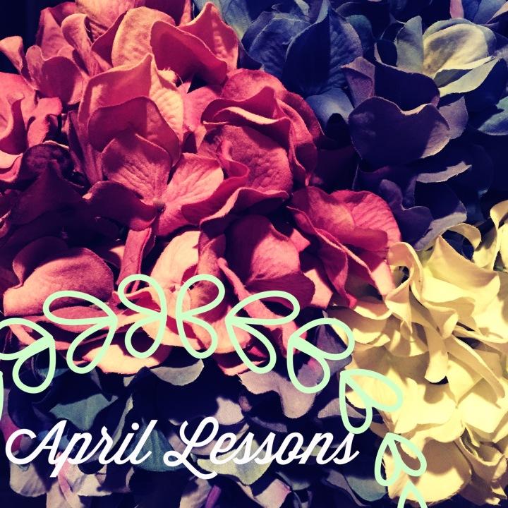 April Lessons 2014…