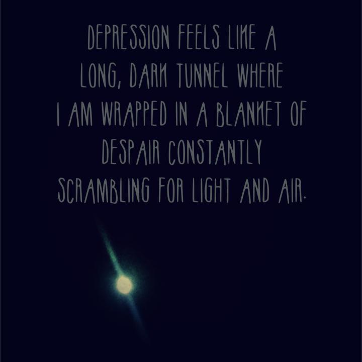 What depression feelslike…